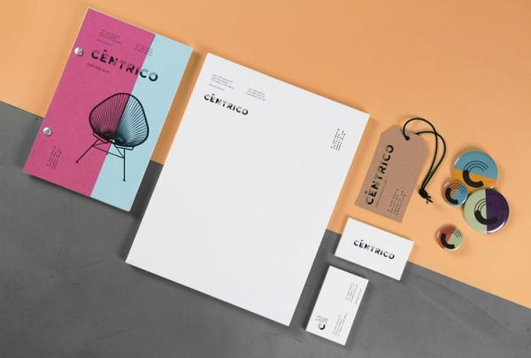 Céntrico – graphic design, branding, and communication design by Bienal.