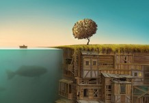 Gediminas Pranckevicius, a surreal illustration created by Gediminas Pranckevicius.