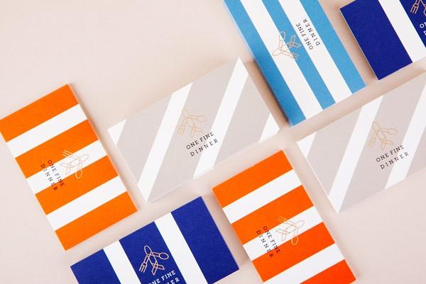 OneFineDinner, branding, editorial design, and photography by Seoul, Korea based graphic design studio ContentFormContext.