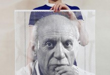 Pablo Picasso – paper artwork from a collection of cut portraits.