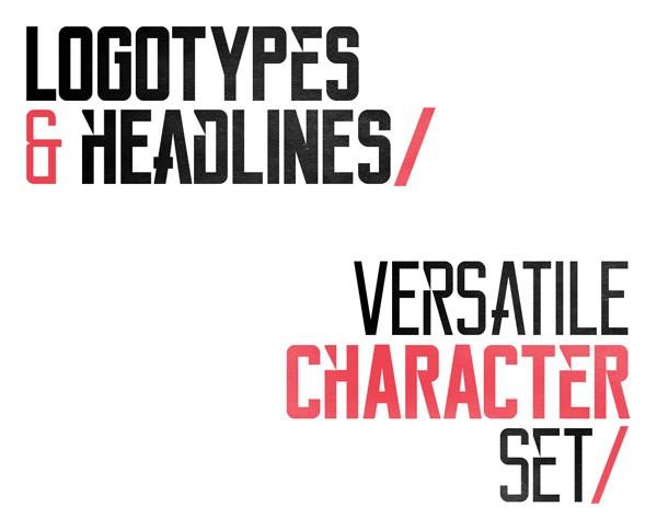 Reckoner Typeface – Free Font by Alex Dale
