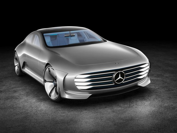 The Mercedes-Benz IAA Concept Car is a retro futuristic coupé with amazing features.