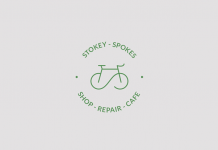 The Stokey Spokes logo creation.