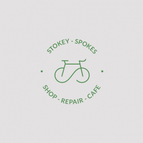 Stokey Spokes – Bikes & Coffee Brand Identity