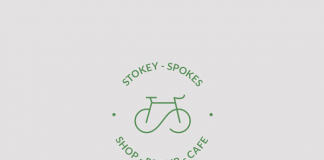 The Stokey Spokes logo creation.