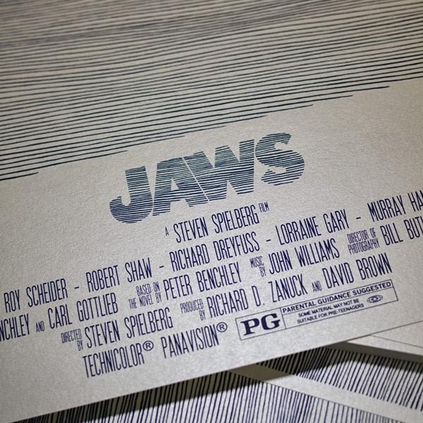 Jaws, a Steven Spielberg film.