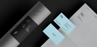 Some of studio March's stationery elements.