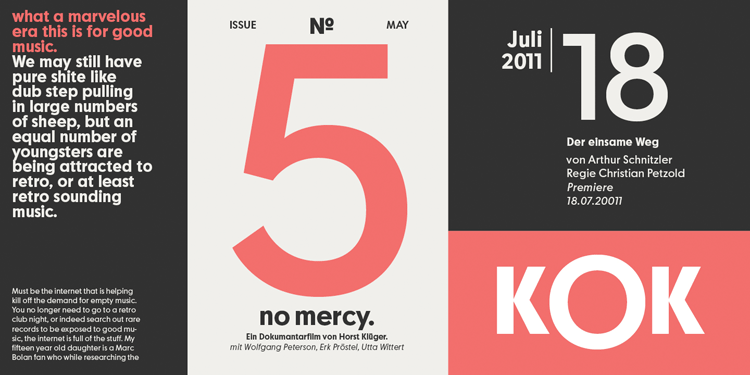 The Moskau Grotesk font family is based on minimalism and simplicity.