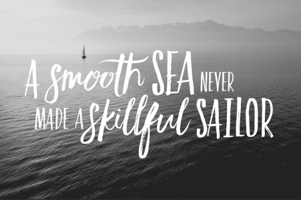 With these two fonts you can create beautiful titles in a hand drawn look.