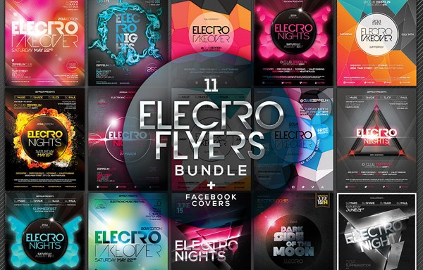 Big Flyer Templates Bundle For Adobe Photoshop
