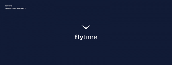 FlyTime – website for aircrafts.