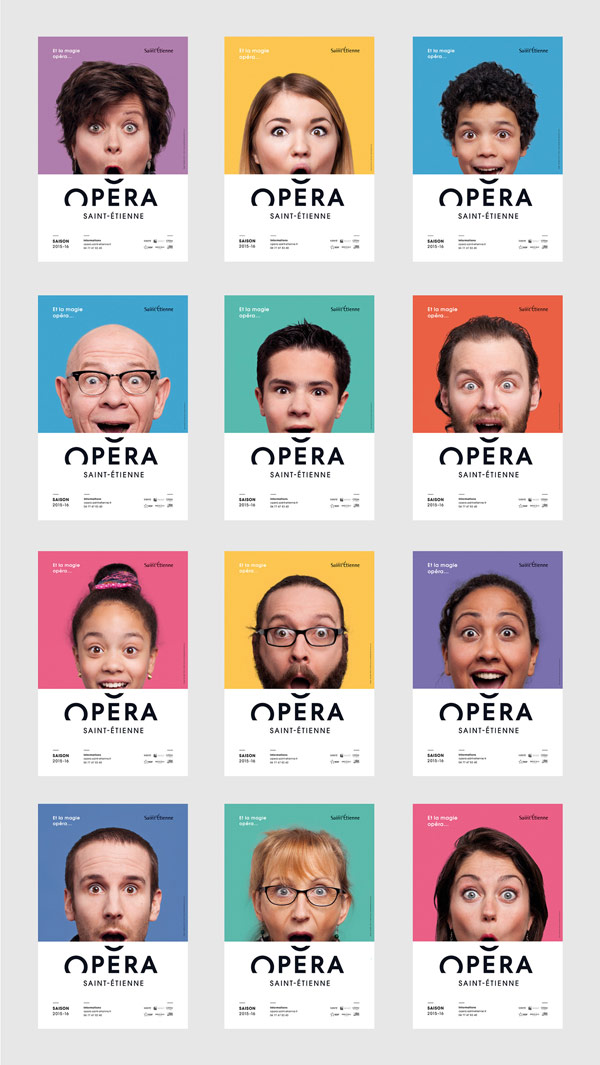 Saint Etienne Opera House – Branding by Graphéine