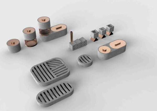 Amphi product design by WUU.