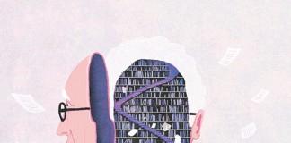 Drawing by Yasmine Gateau for a magazine.