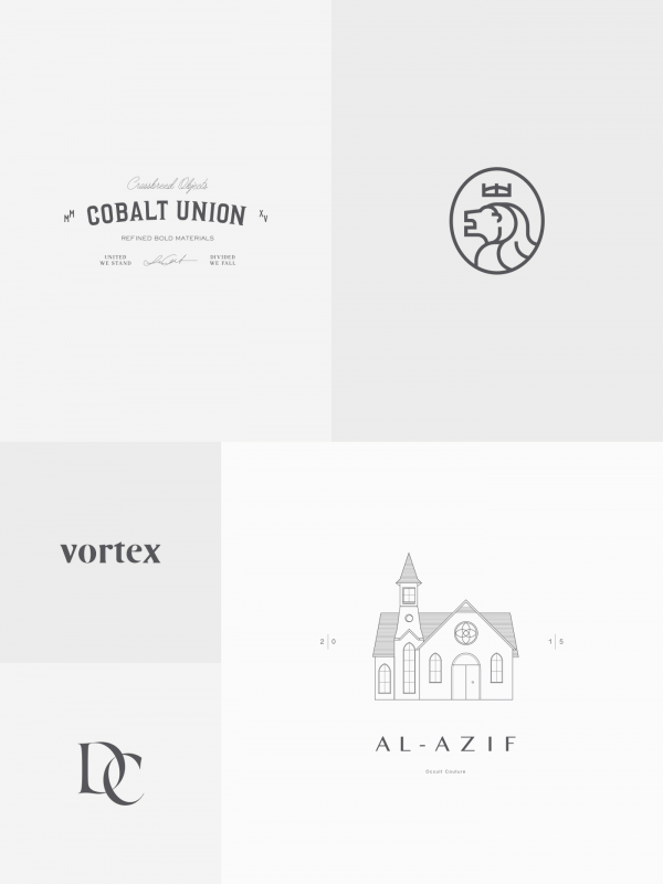 First part of a series of logos and marks created by Sabbath Visuals, a Monterrey, Mexico based multidisciplinary brand consultancy.