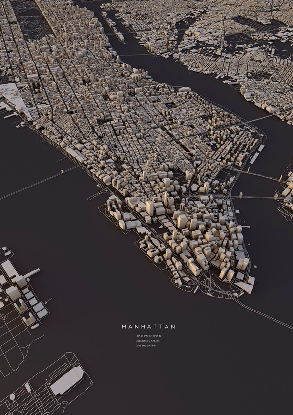 3d City Layouts By Luis Dilger