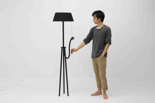 The Angry Lamp – interior design by Yuue.