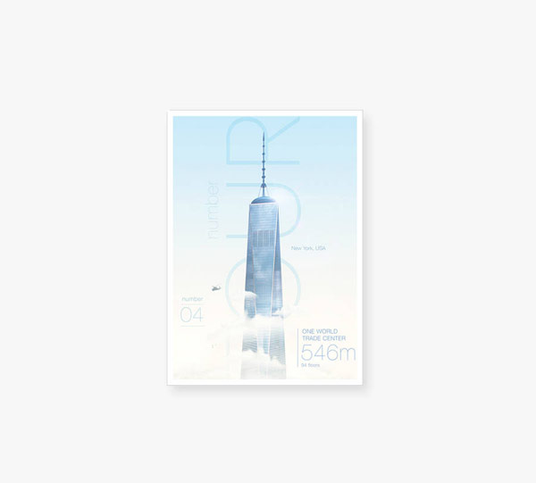 One World Trade Center print.