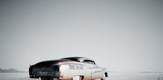 Imagery by Christopher Wilson for the Bonneville Salt Flats - Speed Week.