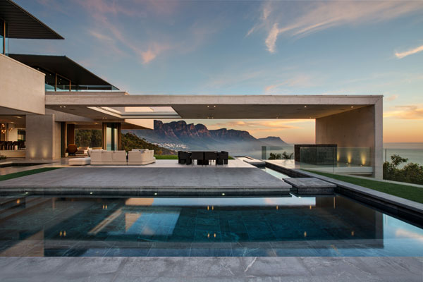 The OVD 919 house by SAOTA in Bantry Bay, Cape Town, South Africa.