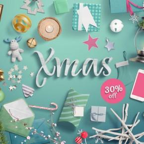 Download: Christmas Mockup Scene Generator from LStore