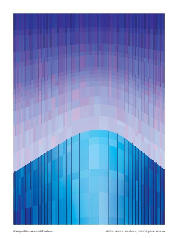 Home Manchester – Graphic design by Giuseppe Gallo, creative director of studio Mirabilia.