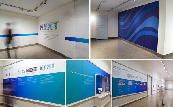 NEXT 2015 – exhibition brand identity by Corcoran Design Lab.