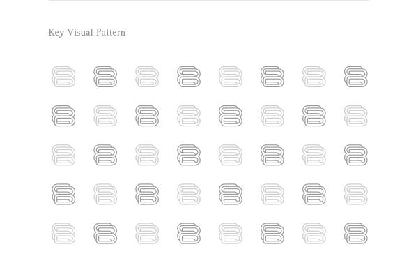 The key visual pattern.