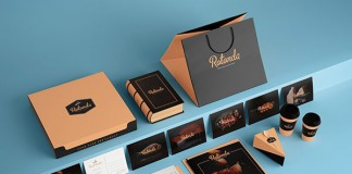 Sofia Weinstein was commissioned by studio RADUGA7 to create the brand identity concept for restaurant Rotonda.