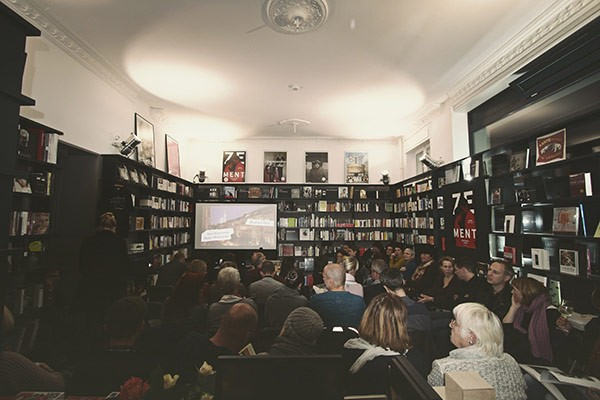 Einar & Bert is Germany's first theater book store.