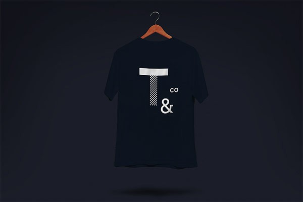 T-shirt with logo print.