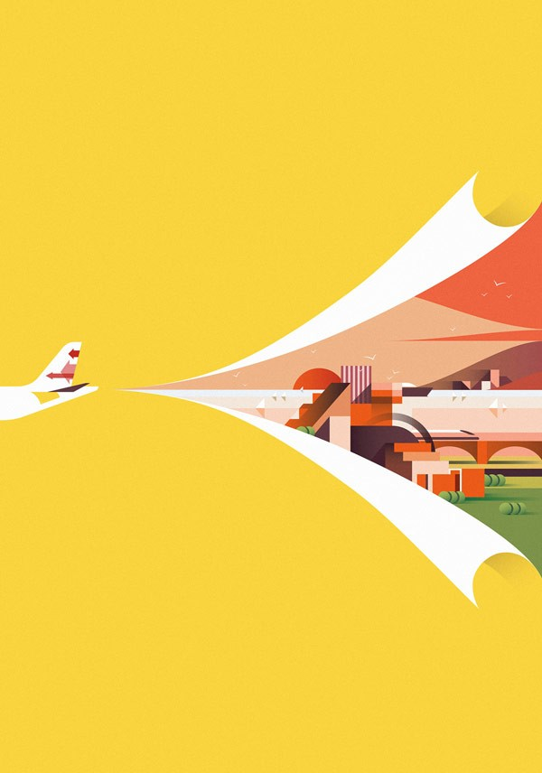 Ray Oranges – Various Illustrations from 2015