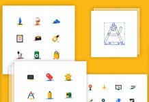 Blobs, a collection of 1000 free flat icons.