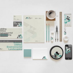 M&B Construction Brand Identity by The Design Surgery
