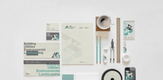 Branding and identity design by London, UK based The Design Surgery for M&B Construction.