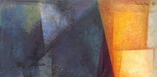 Stiller Tag Am Meer – Artwork by Lyonel Feininger.