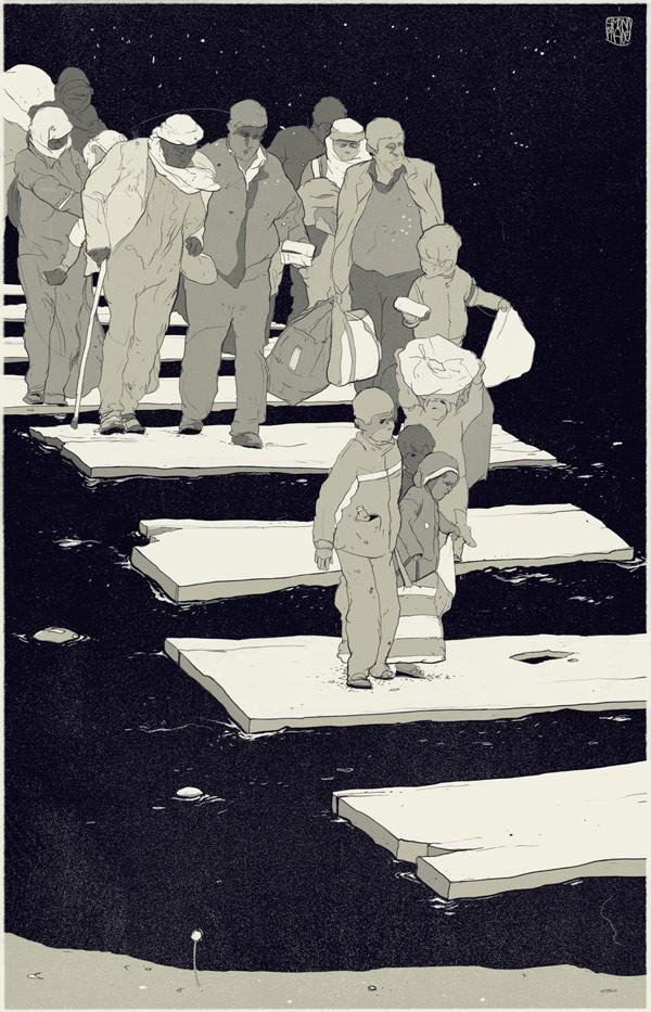 Editorial Illustrations by Simon Prades