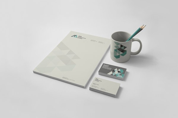 The Design Surgery has created this stationery set as part of their brand development for M&B Construction.