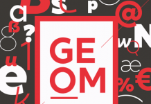 XXII Geom, a modern geometric sans serif font family.