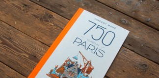 750 years in Paris, a graphic novel with lots of illustrations created by Vincent Mahé.