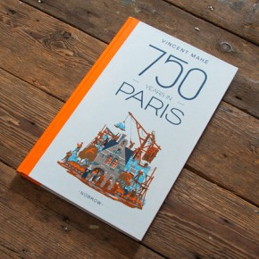 750 years in Paris – Graphic Novel by Vincent Mahé