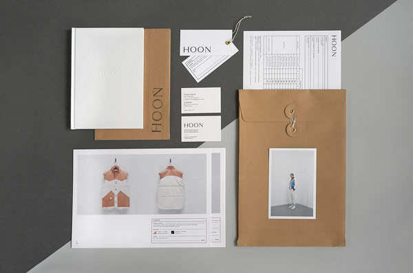 Art direction including graphic design and web design by Paris based Say What Studio for the HOON leather shop.