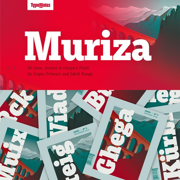 Muriza Font Family from TypeMates