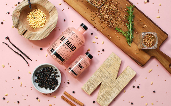 Niemand Dry Gin – corporate design and packaging by agency Qoop.