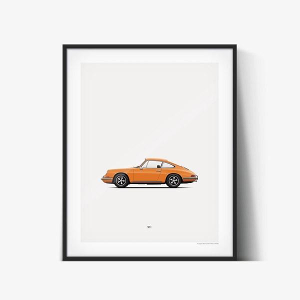 Classic Dream Cars – Poster Illustrations