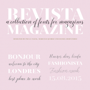 Revista Fonts from Latinotype