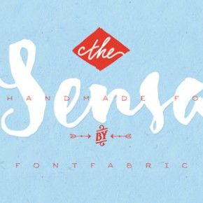 Sensa Handmade Font Family from Fontfabric