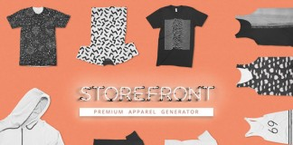 Storefront is an apparel mega bundle with more than 100 mockups.