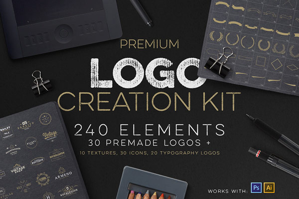 Logo Creation Kit from Zeppelin Graphics