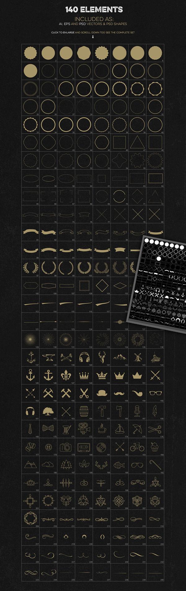 Logo Creation Kit from Zeppelin Graphics
